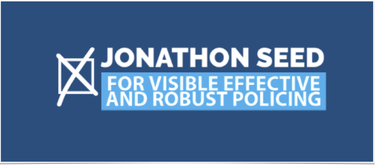 Jonathon Seed for Police and Crime Commissioner